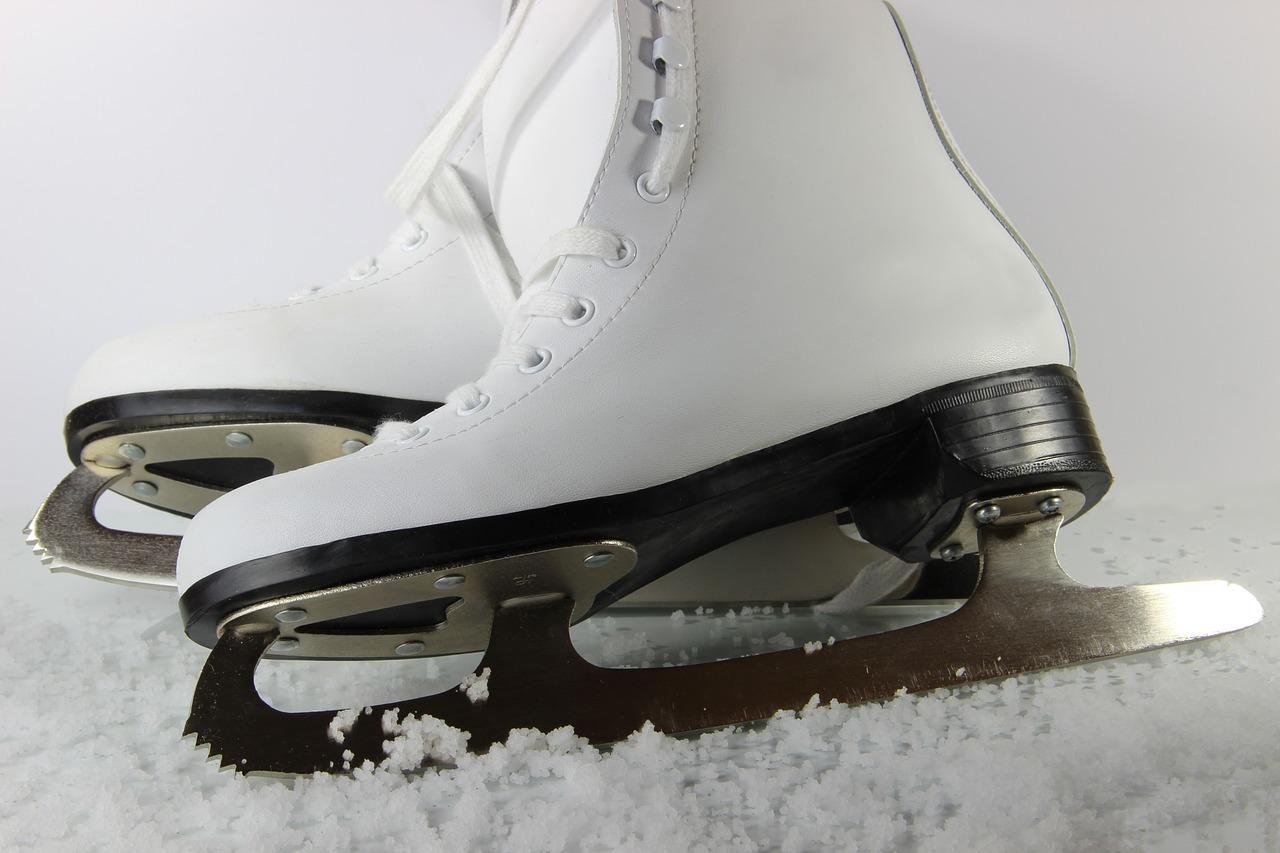 Faire le patin à glace fait du bien.